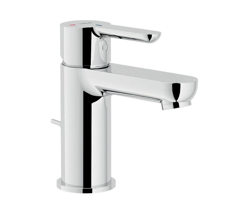 Miscelatore monocomando per lavabo a risparmio energetico for Rubinetti per lavabo