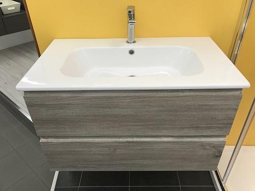 Iotti mobile da bagno modello cubo sospeso cm 100 finitura pamplona idrocommerce vendita online - Iotti mobili bagno ...