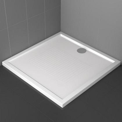 Piatto doccia 100x70 h 4 5 cm in acrilico con finitura antiscivolo novellini serie new olympic - Piatti doccia in vetroresina ...