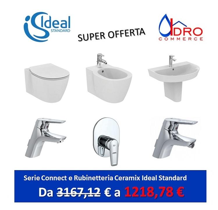 Promozione Serie Connect Ideal Standard Sospeso + rubinetteria ...