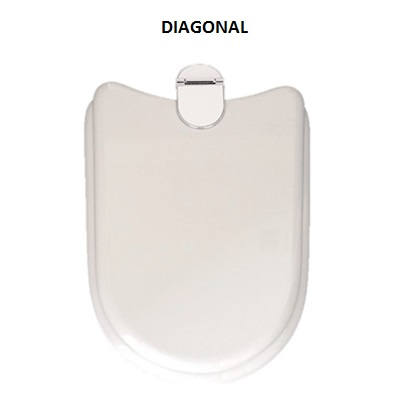Sedile Wc Ideal Standard Diagonal.Sedile Copriwc Per Wc Ideal Standard Modello Diagonal Maison Lunettes Abattants Wc