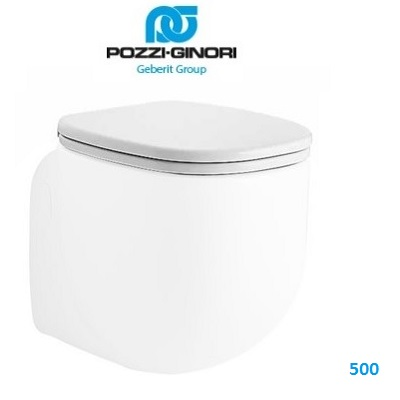 Pozzi Ginori 500 Sedile.Sedile Slim Con Chiusura Ammortizzata Pozzi Ginori 500 Art 41763 Idrocommerce Vendita Online