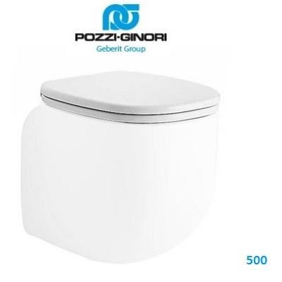 Sedile Wc Pozzi Ginori 500.Sedile Slim Pozzi Ginori 500 Art 41761 Idrocommerce Vendita Online