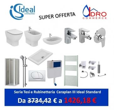 Offerte ideal standard vendita online idrocommerce - Miscelatori bagno ideal standard ...